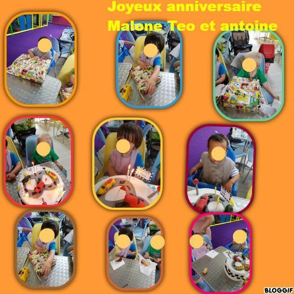 Joyeux Anniversaire Malone Teo Et Antoine Centerblog